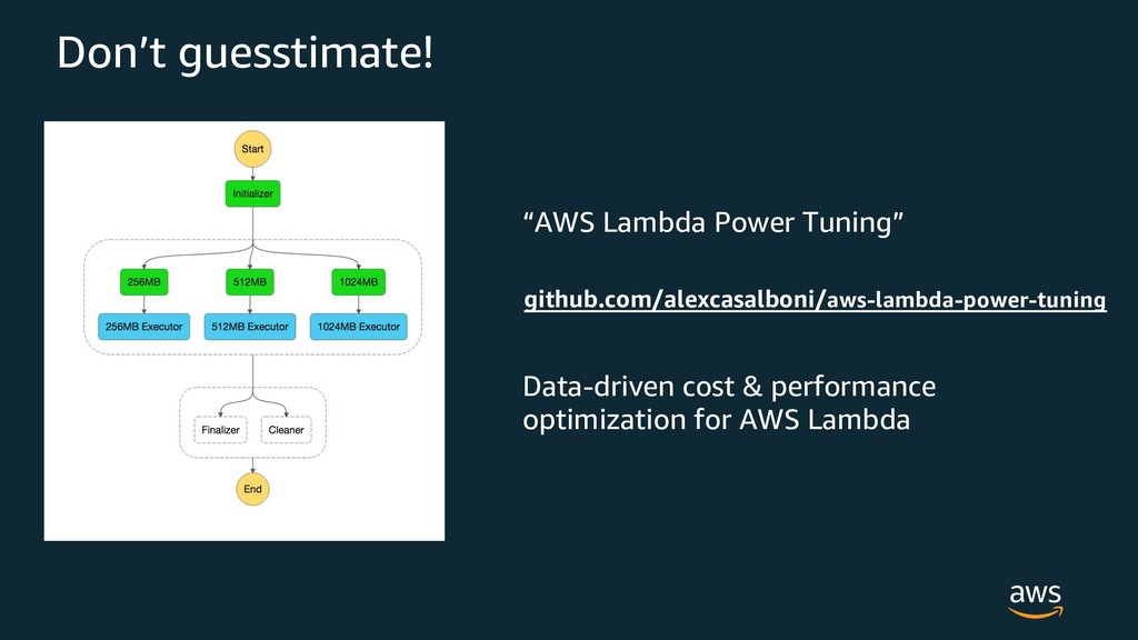 """AWS Lambda Power Tuning"" Data-driven cost & pe..."