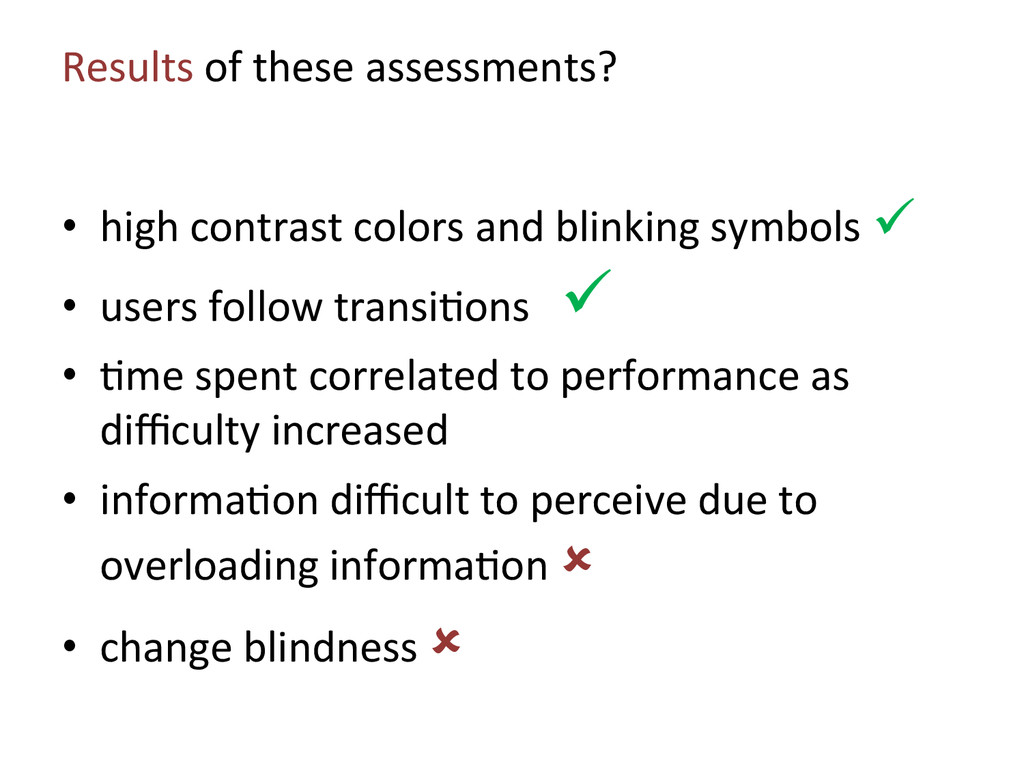 Results of these assessments?  • h...