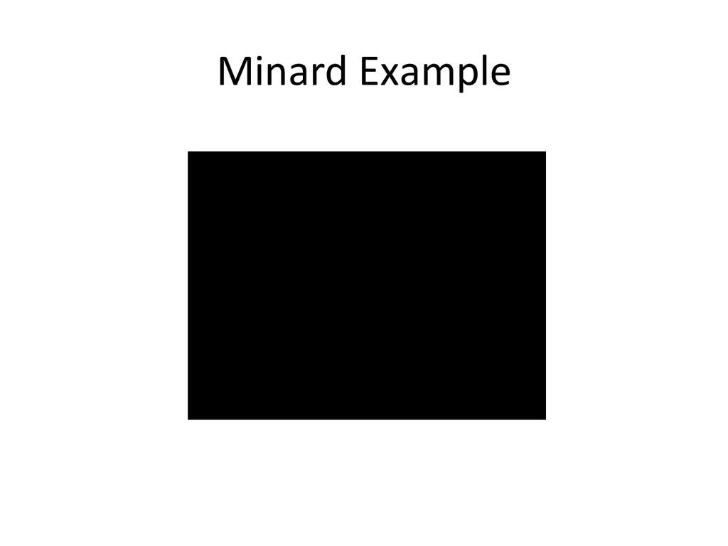Minard Example