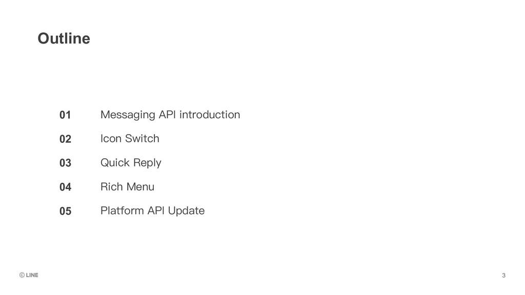 01 02 03 04 05 Outline Messaging API introducti...