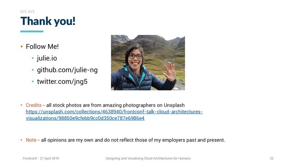 • Follow Me! • julie.io • github.com/julie-ng •...