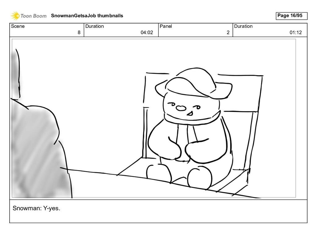 Scene 8 Duration 04:02 Panel 2 Duration 01:12 S...