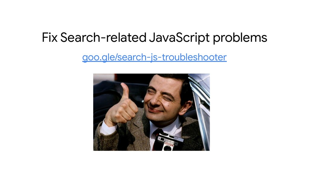 Fix Search-related JavaScript problems goo.gle/...