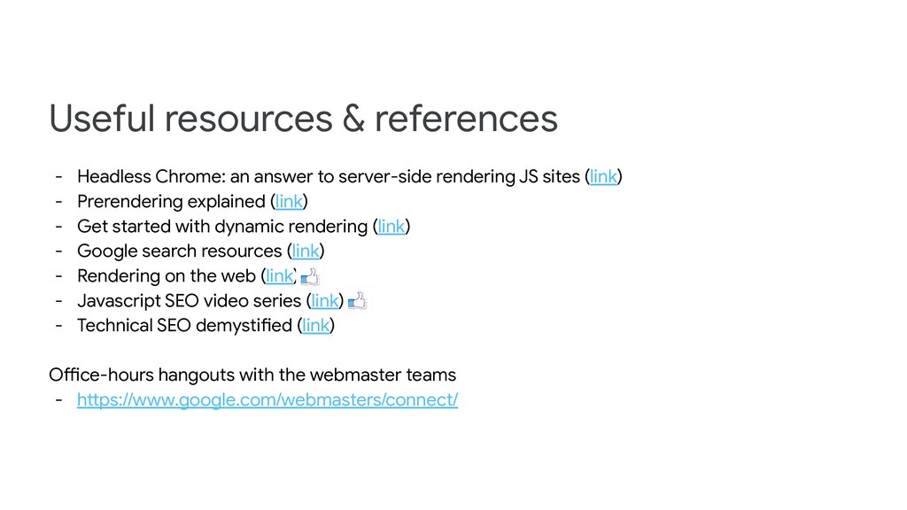 Useful resources & references - Headless Chrome...