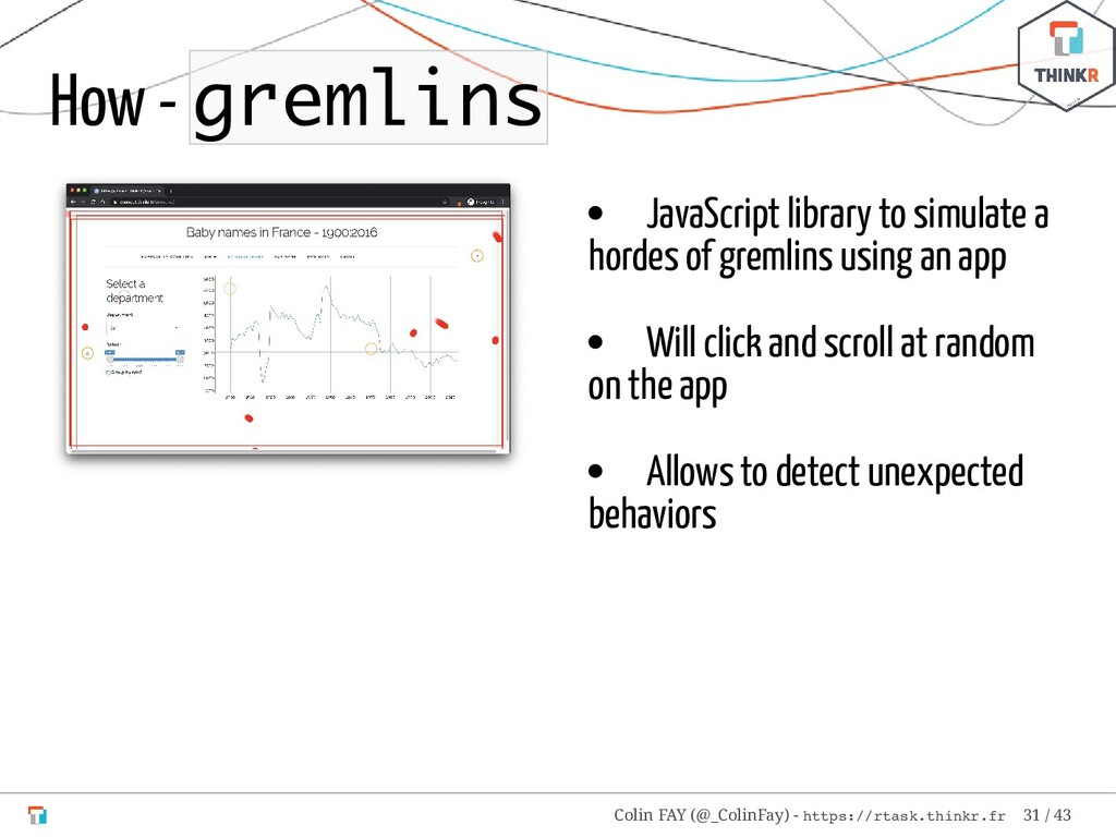 JavaScript library to simulate a hordes of grem...