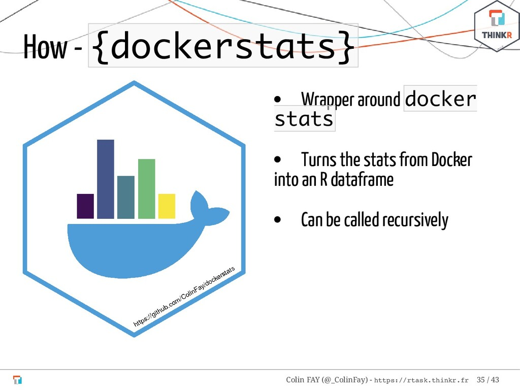 Wrapper around docker stats Turns the stats fro...