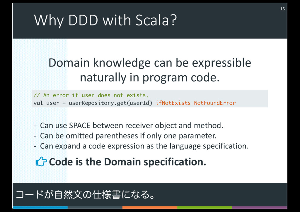 Domain knowledge can be expressible naturally i...