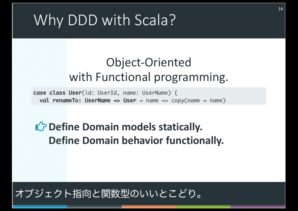 Object-Oriented with Functional programming. Wh...