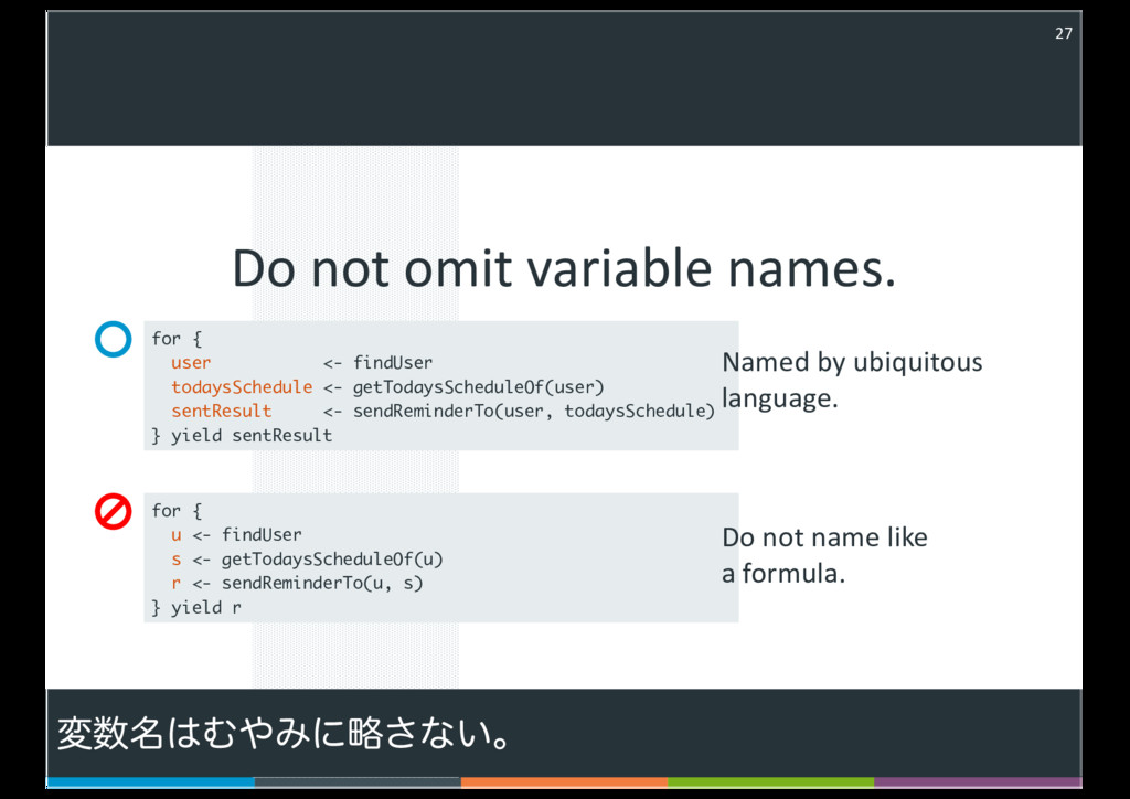 Do not omit variable names. 27 - < , - ( , ) , ...