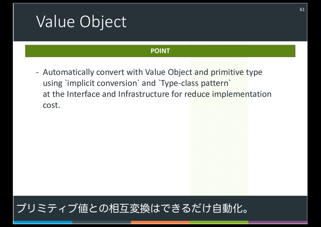 Value Object 61 - Automatically convert with Va...