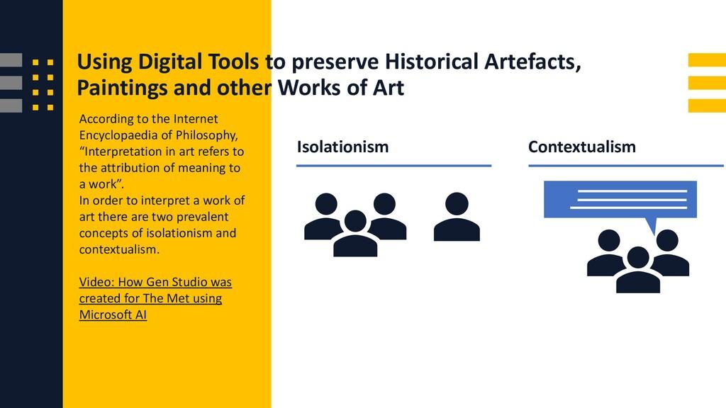 Using Digital Tools to preserve Historical Arte...