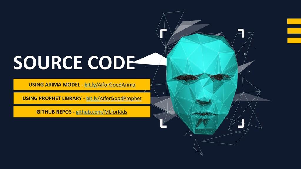 SOURCE CODE GITHUB REPOS - github.com/MLforKids...
