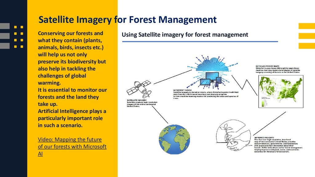 Using Satellite imagery for forest management C...