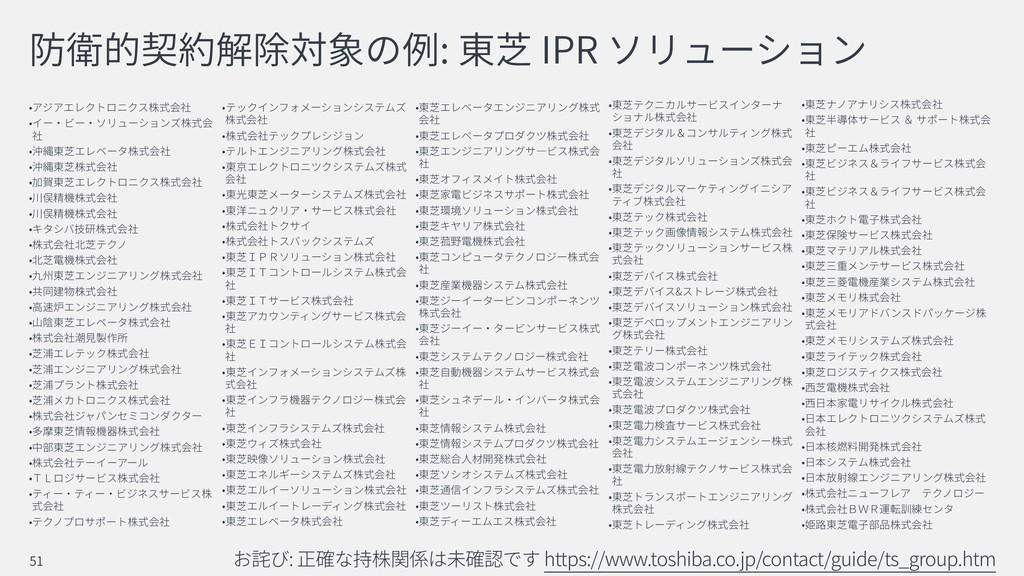 : IPR & : https://www.toshiba.co.jp/contact/gui...