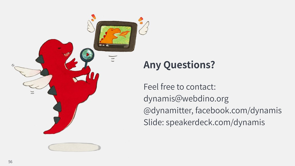 Any Questions? Feel free to contact: dynamis we...