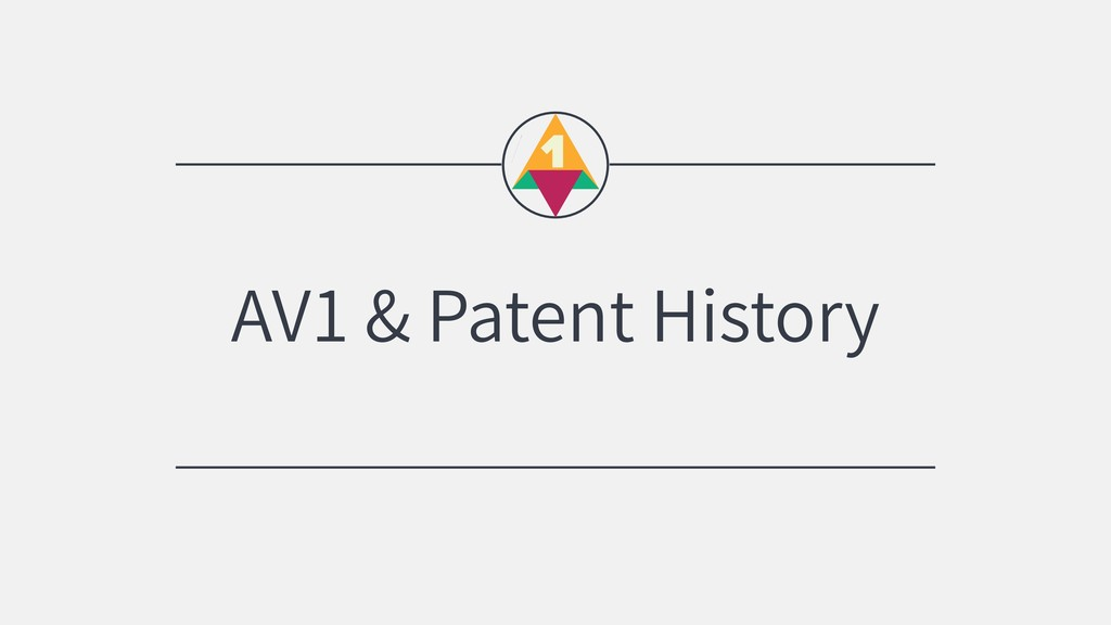 AV1 & Patent History
