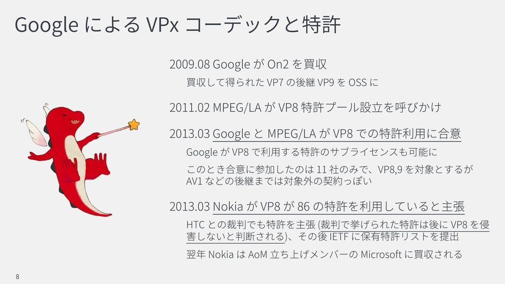 Google VPx 2009.08 Google On2 VP7 VP9 OSS 2011....