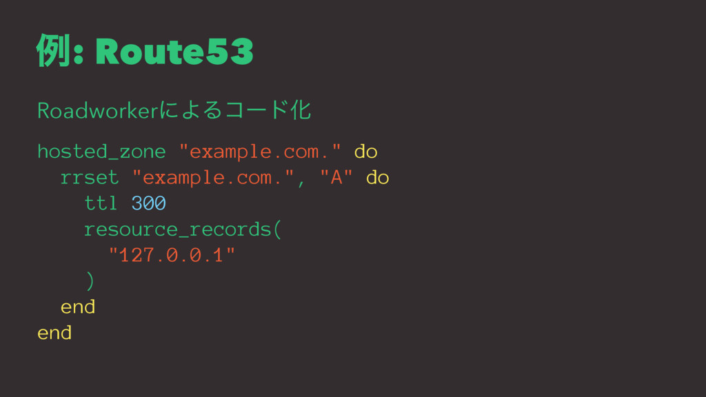 "ྫ: Route53 RoadworkerʹΑΔίʔυԽ hosted_zone ""examp..."