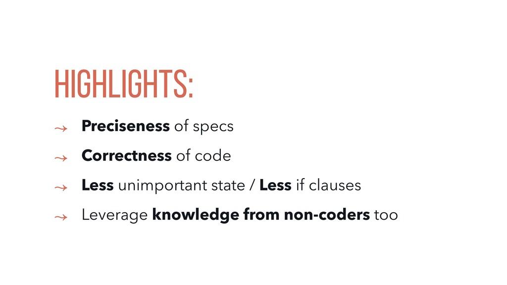 HIGHLIGHTS: ↝ Preciseness of specs ↝ Correctnes...