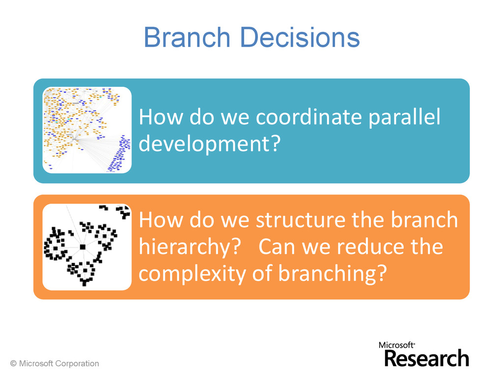© Microsoft Corporation Branch Decisions How do...