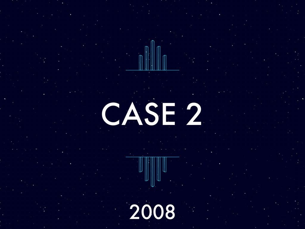 CASE 2 2008