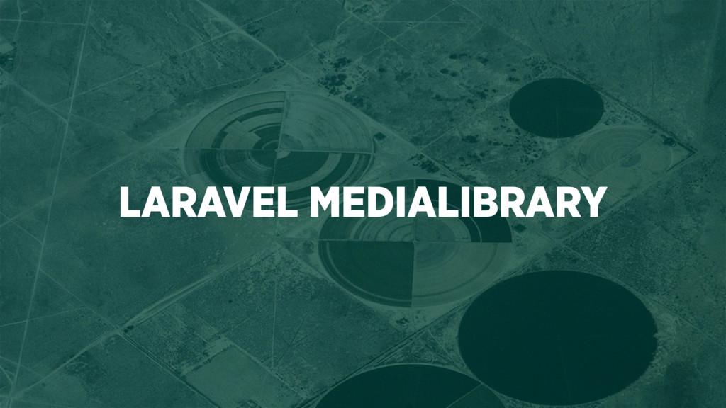 LARAVEL MEDIALIBRARY