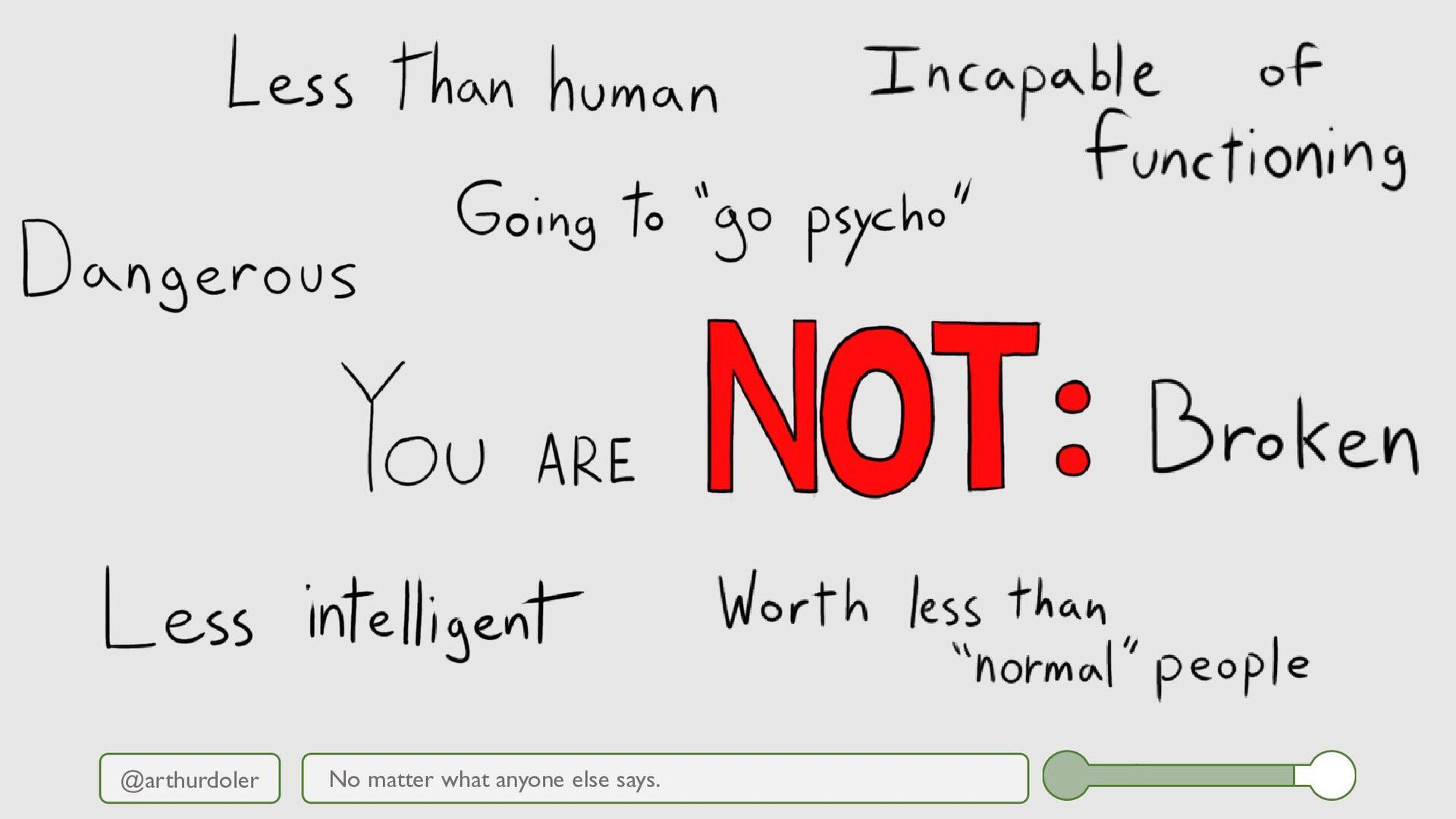 @arthurdoler No matter what anyone else says.