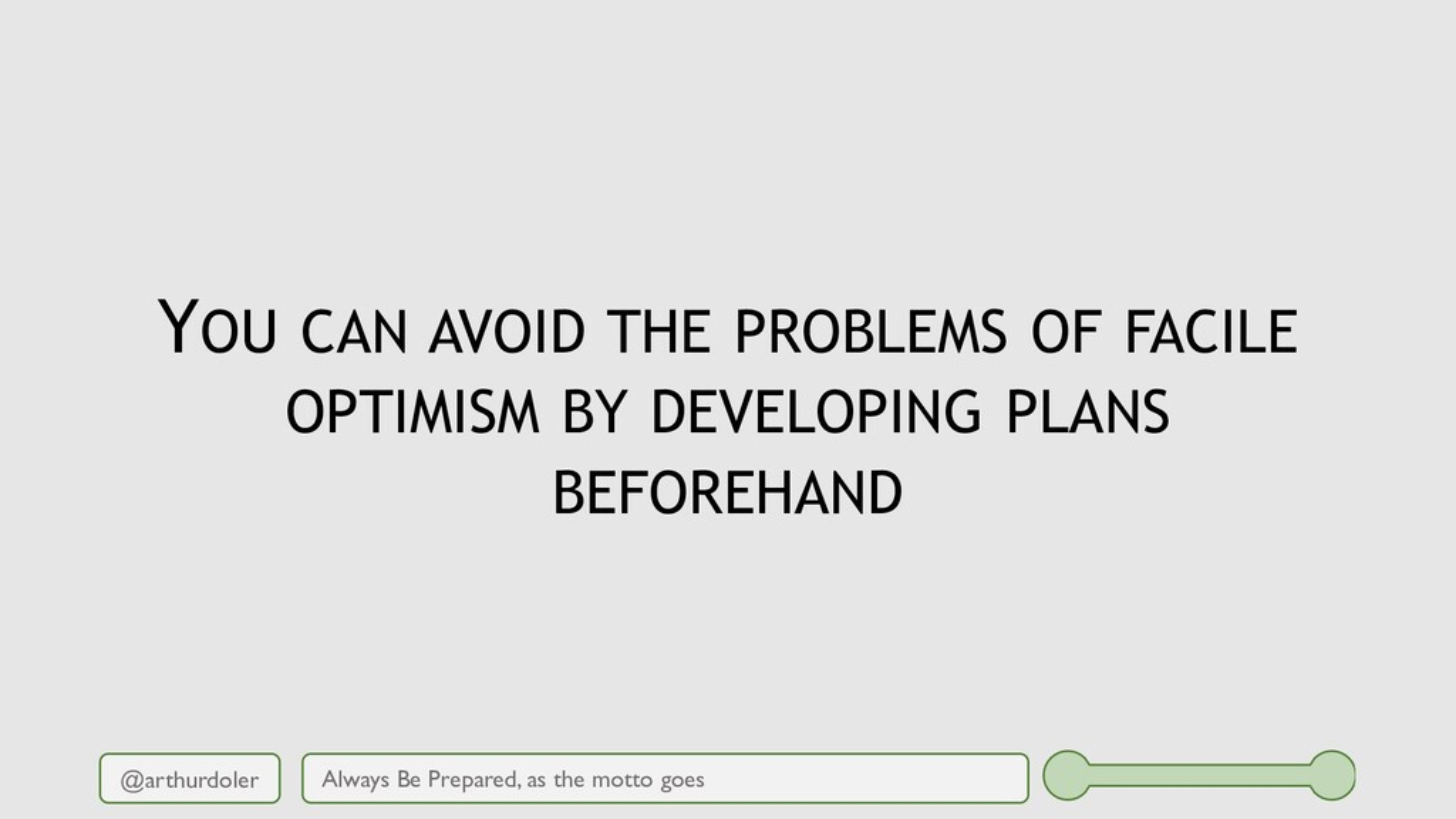 @arthurdoler YOU CAN AVOID THE PROBLEMS OF FACI...