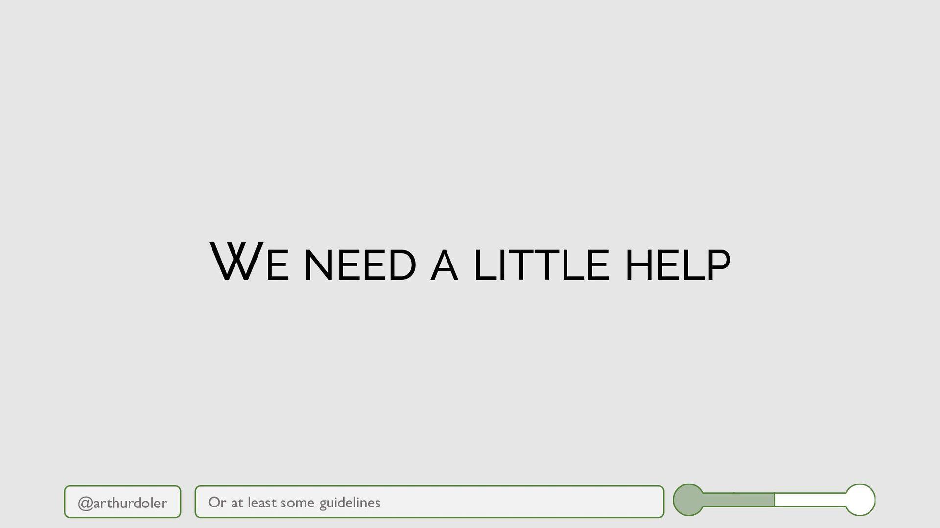 @arthurdoler WE NEED A LITTLE HELP Maybe you're...