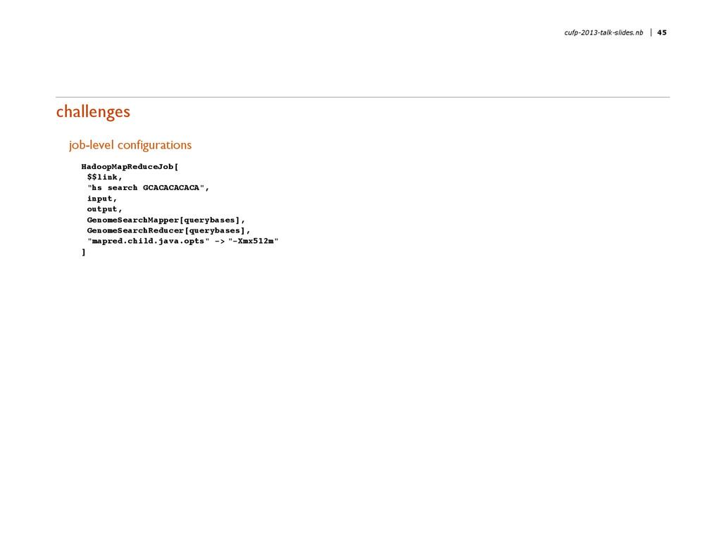 challenges job-level configurations HadoopMapRe...