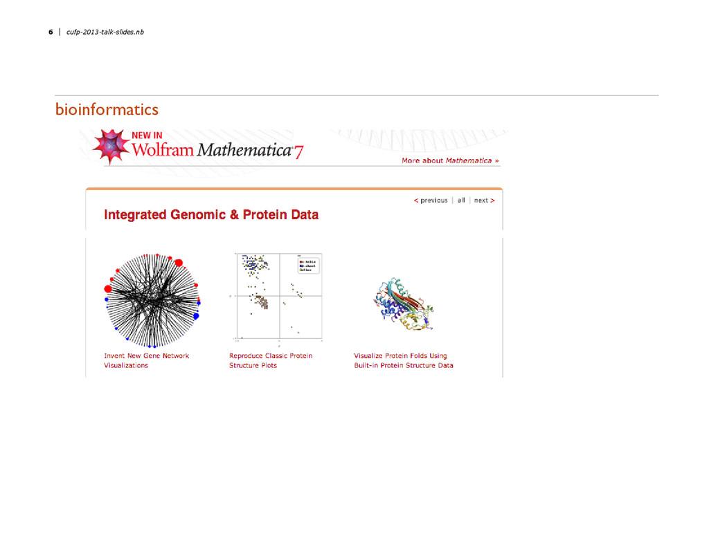 bioinformatics 6 cufp-2013-talk-slides.nb