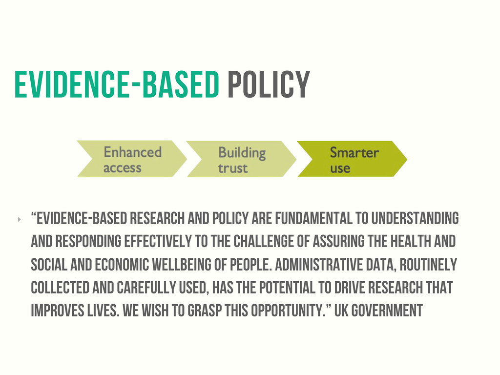 """evidence-based policy ‣ """"evidence-based researc..."""
