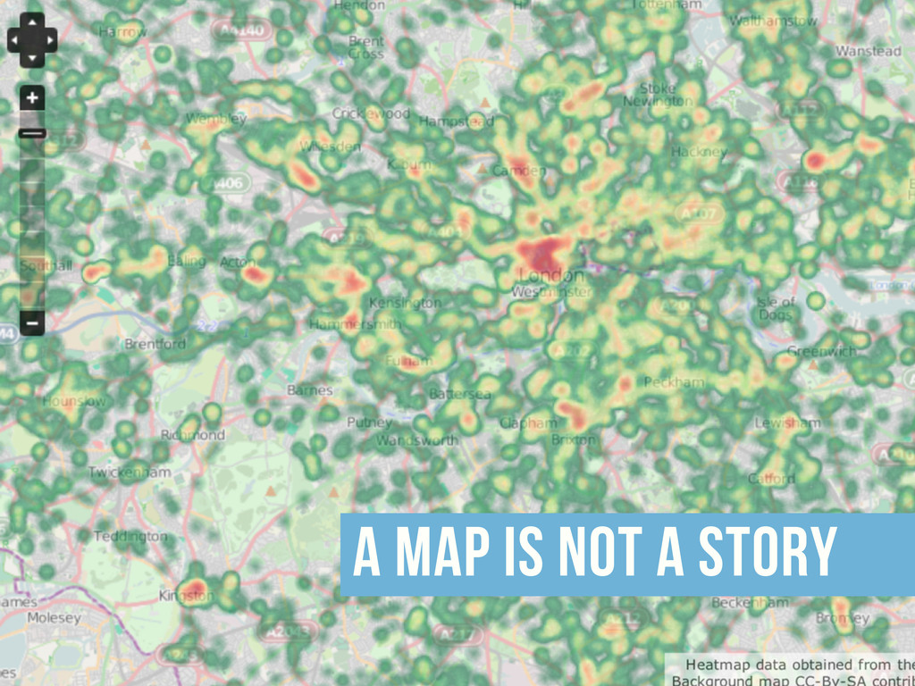 a map is not a story