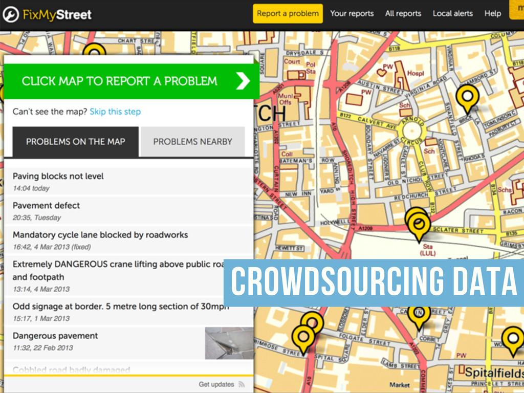 crowdsourcing data