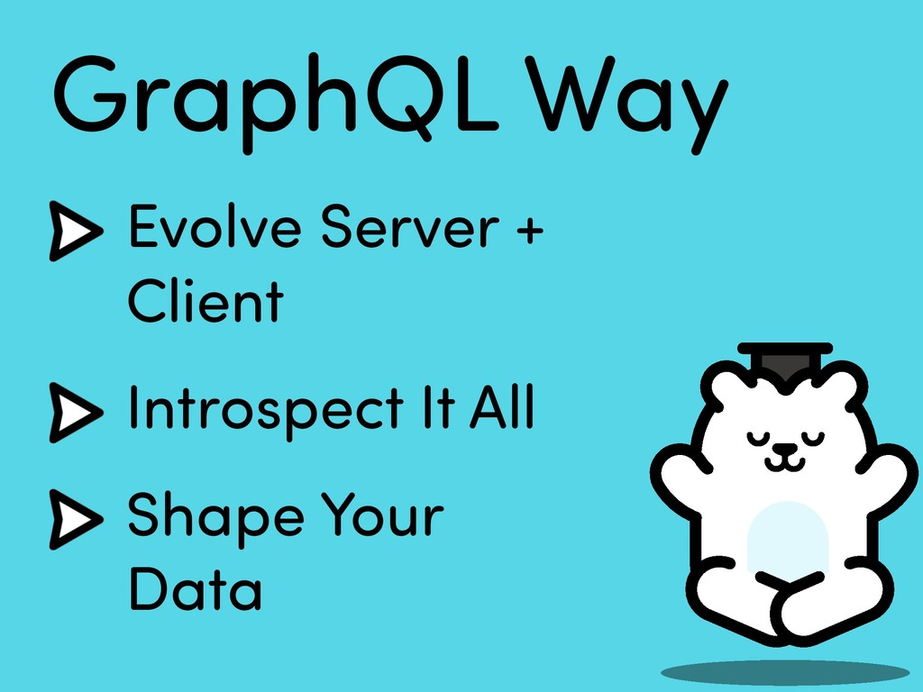 GraphQL Way Evolve Server +