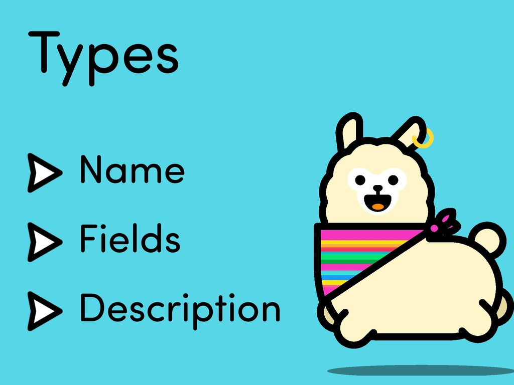 Types Name Fields Description