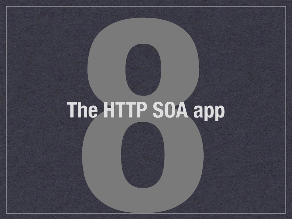 8 The HTTP SOA app