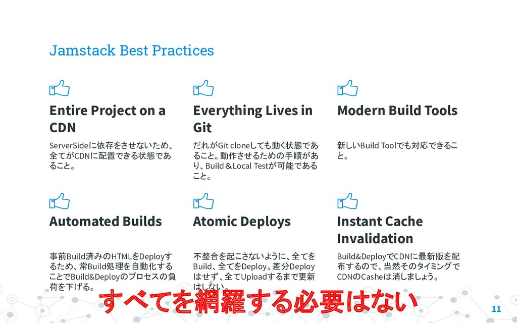 Jamstack Best Practices Entire Project on a CDN...