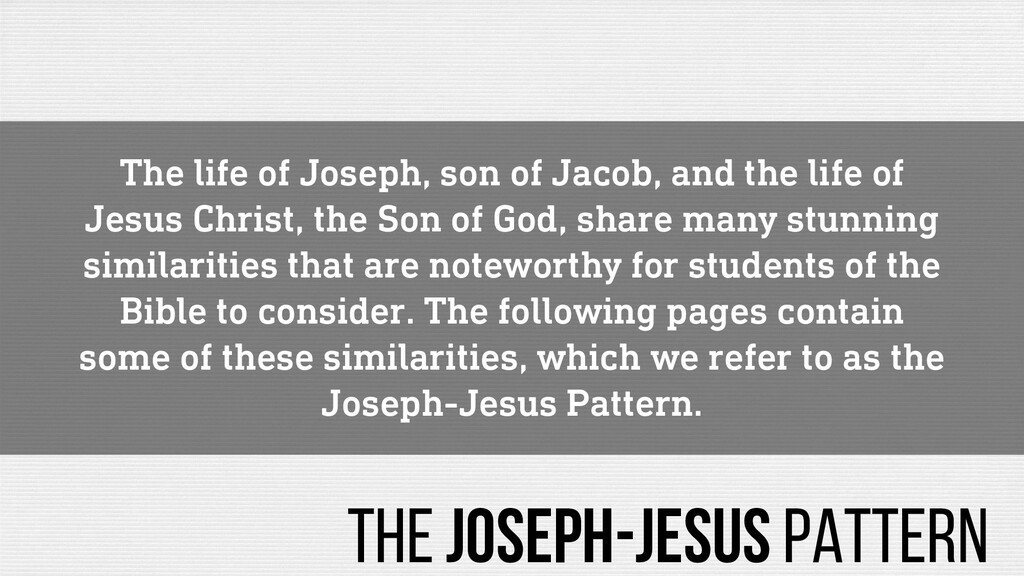 The life of Joseph, son of Jacob, and the life ...