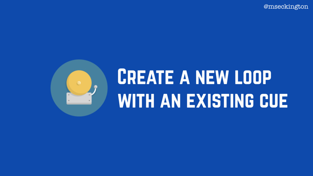Create a new loop with an existing cue @mseckin...