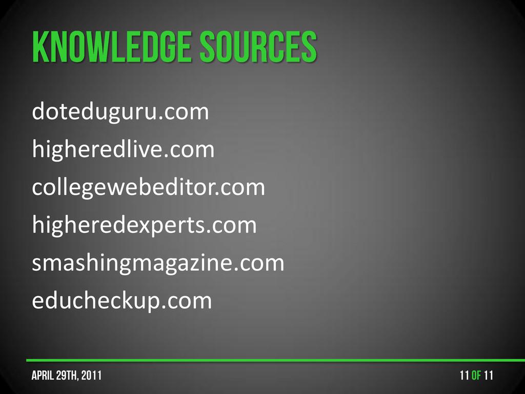 doteduguru.com higheredlive.com collegewebedito...