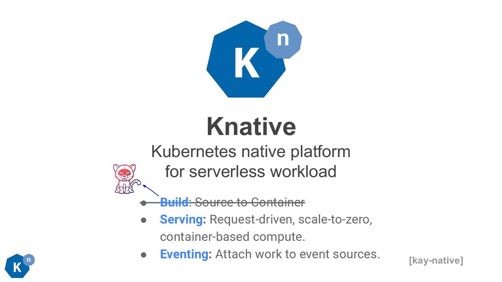 Knative Kubernetes native platform for serverle...