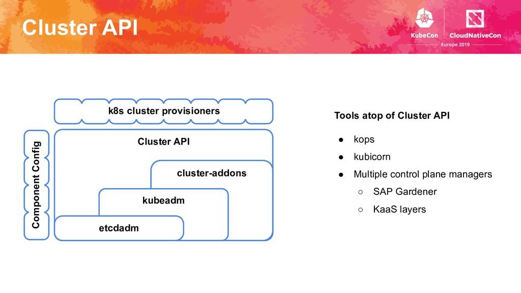 Cluster API cluster-addons Cluster API kubeadm ...