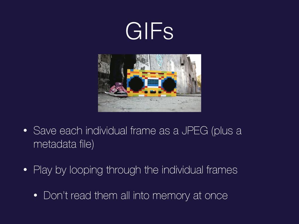 GIFs • Save each individual frame as a JPEG (pl...