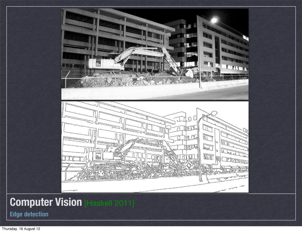 Computer Vision [Haskell 2011] Edge detection T...