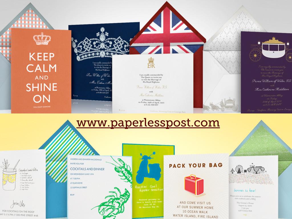 www.paperlesspost.com