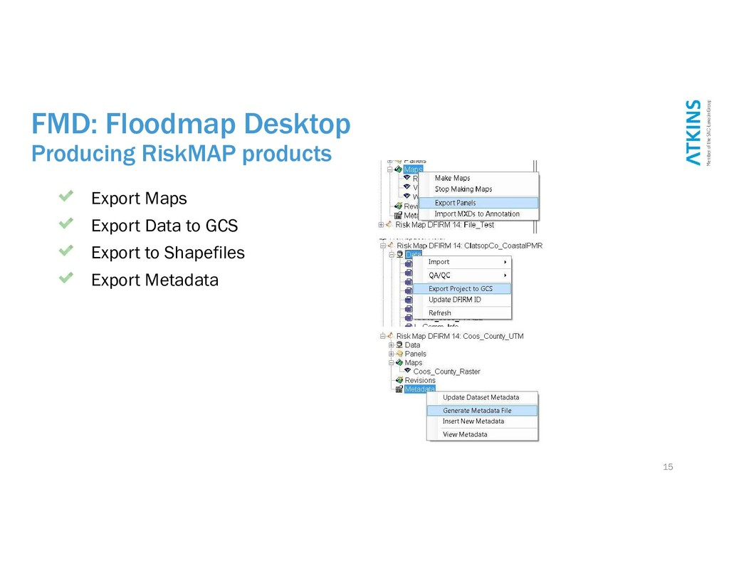 FMD: Floodmap Desktop Producing RiskMAP product...