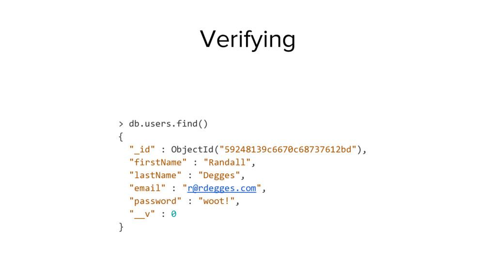 "> db.users.find() { ""_id"" : ObjectId(""59248139c..."