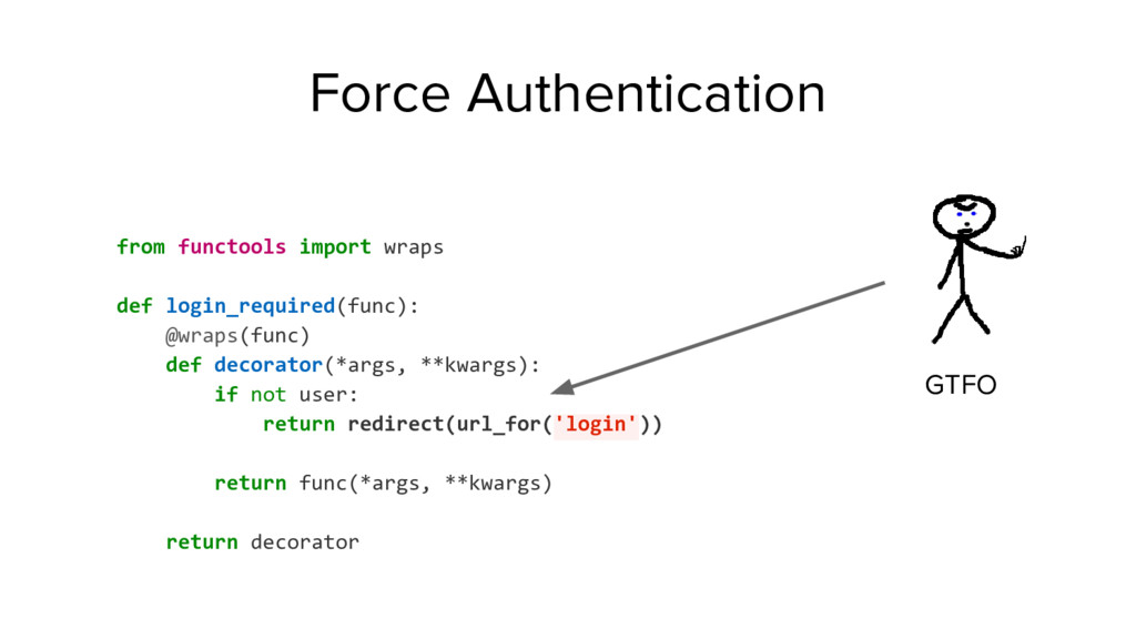 from functools import wraps def login_required(...
