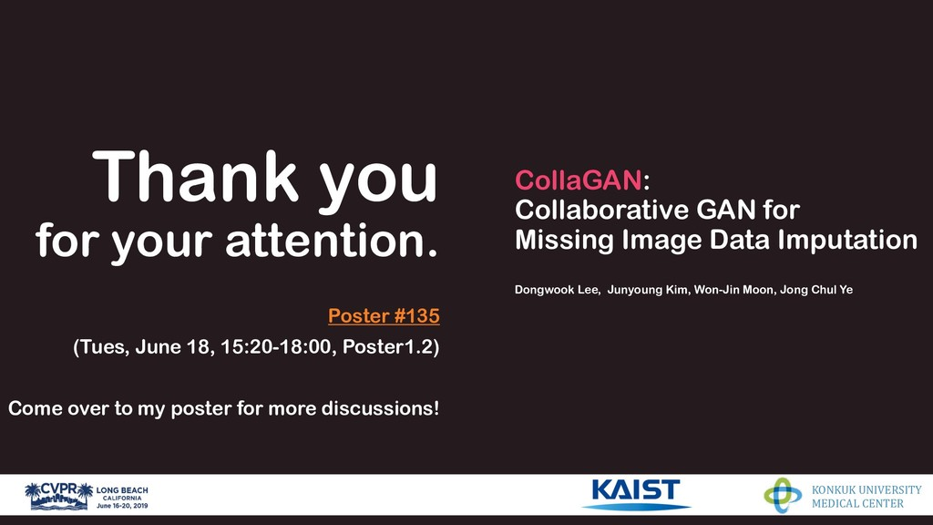 CollaGAN: Collaborative GAN for Missing Image D...